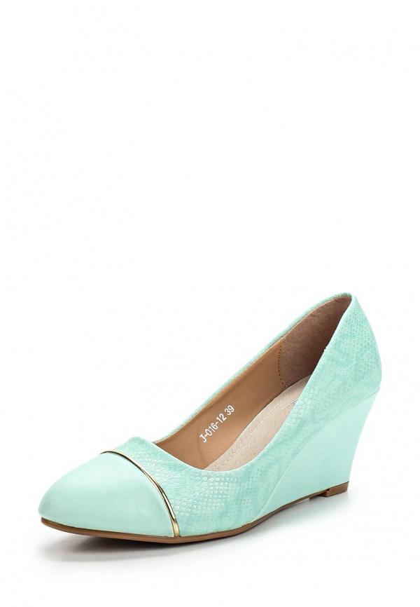 Туфли Vivian Royal J-016-12 зеленые