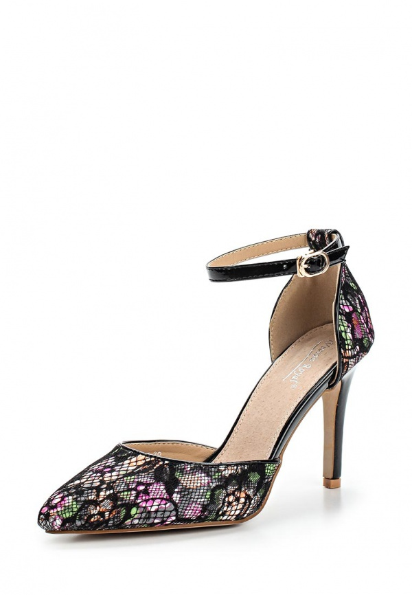 Туфли Vivian Royal J-018-1 чёрные