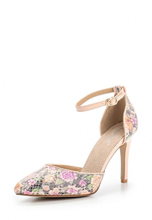 Туфли Vivian Royal J-018-18 розовые