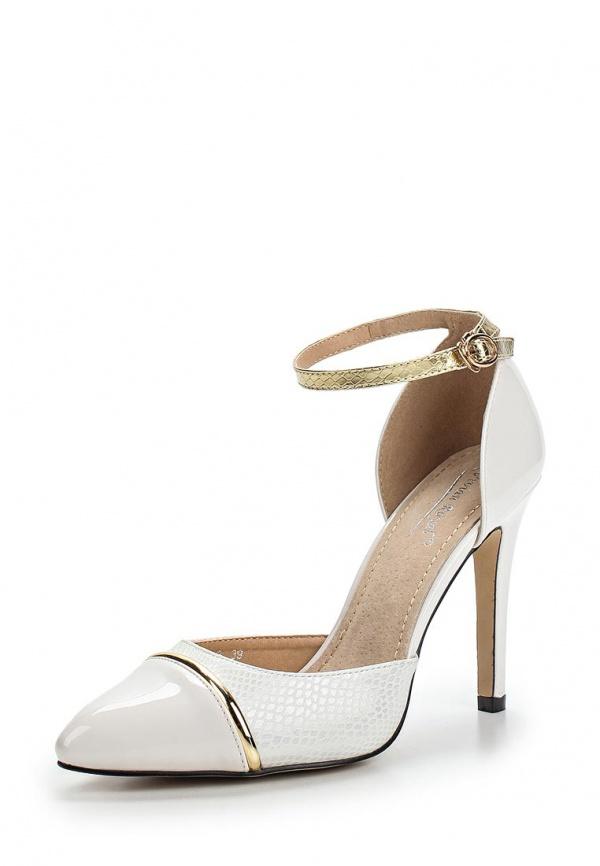 Туфли Vivian Royal J-020-2 белые