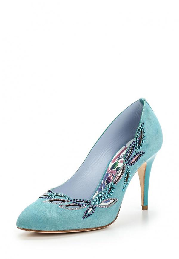 Туфли Fabi FD3318 голубые