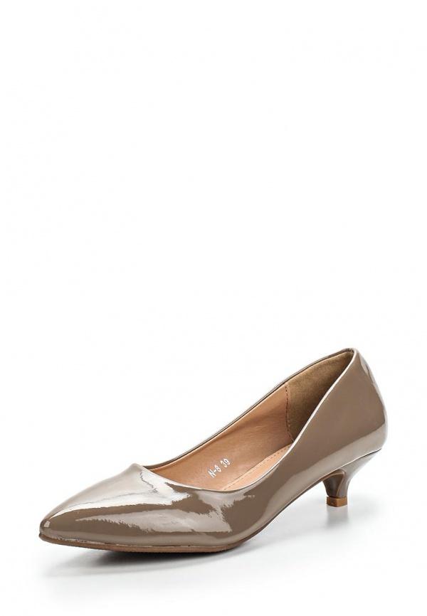 Туфли Max Shoes N-8 коричневые