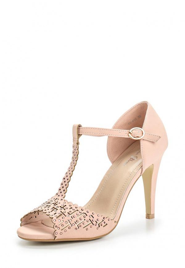 Босоножки Max Shoes EL-412 розовые