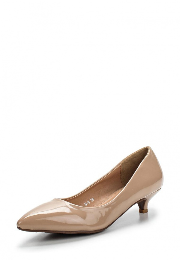 Туфли Max Shoes N-8 бежевые