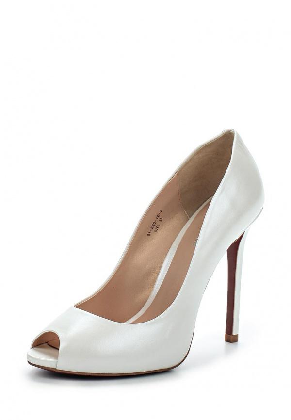Туфли Paolo Conte 61-585-10-2 белые