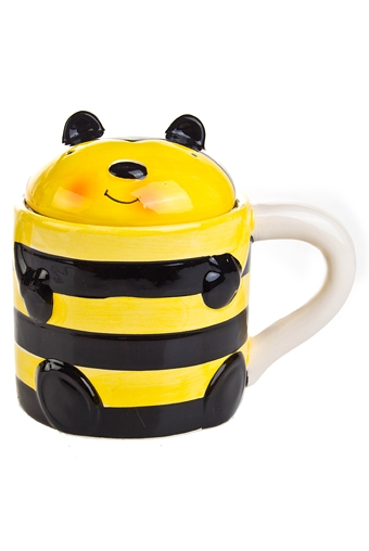 """Кружки с крышками Красный куб Кружка с крышкой """"Пчелка"""""""