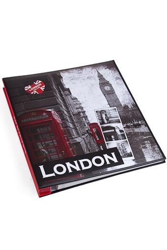 """Магнитные фотоальбомы Красный куб Фотоальбом магнитный """"Лондон"""""""