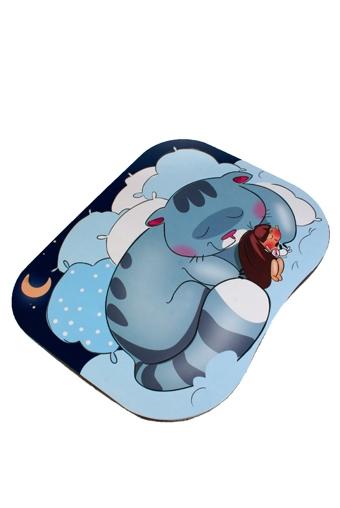 """Подставки для ноутбуков Красный куб Подставка для ноутбука с подушкой """"Сладкая парочка"""""""