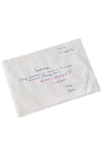 """Обложки для студенческих Красный куб Обложка для студенческого билета """"Заявление"""""""