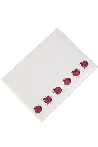 """Обложки для студенческих Красный куб Обложка для зачетки """"Божьи коровки"""""""