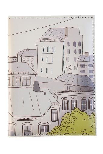 """Обложки для паспорта Красный куб Обложка для паспорта """"Любимый город"""""""