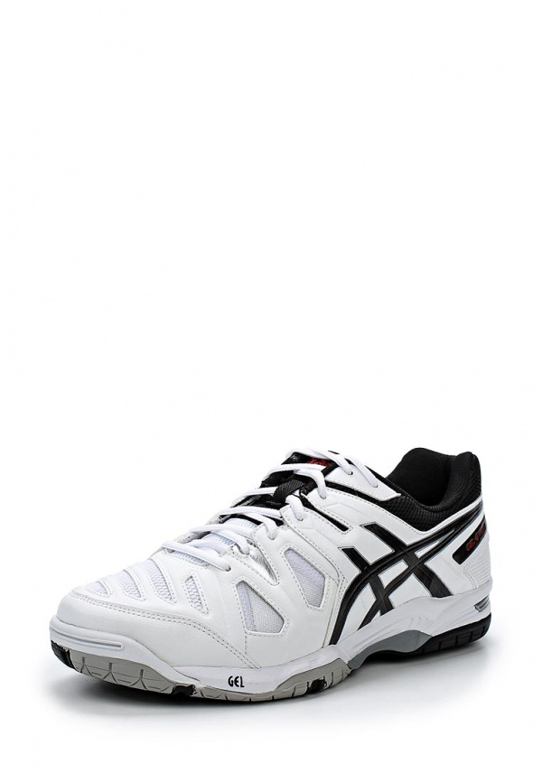 Кроссовки Asics E506Y белые, чёрные