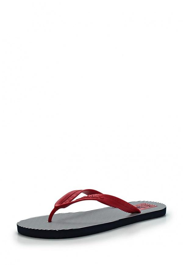 Сланцы adidas Neo F97881 красные