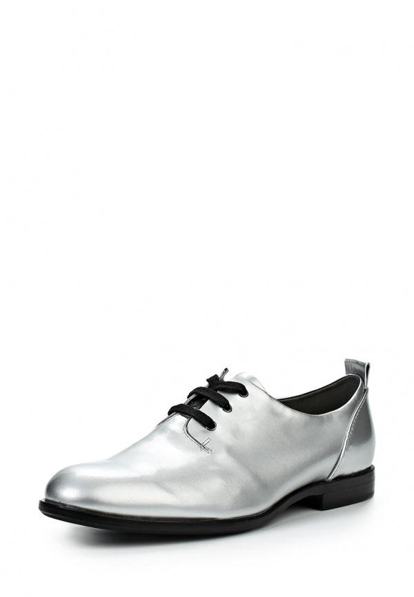 Ботинки Jil Sander Navy JN23045 00021 серебристые