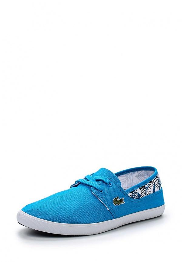 Кеды Lacoste SPW1017PT2 синие