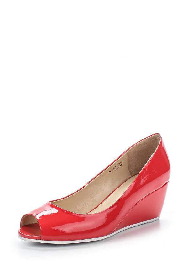 Туфли Paolo Conte 61-539-13-2 красные