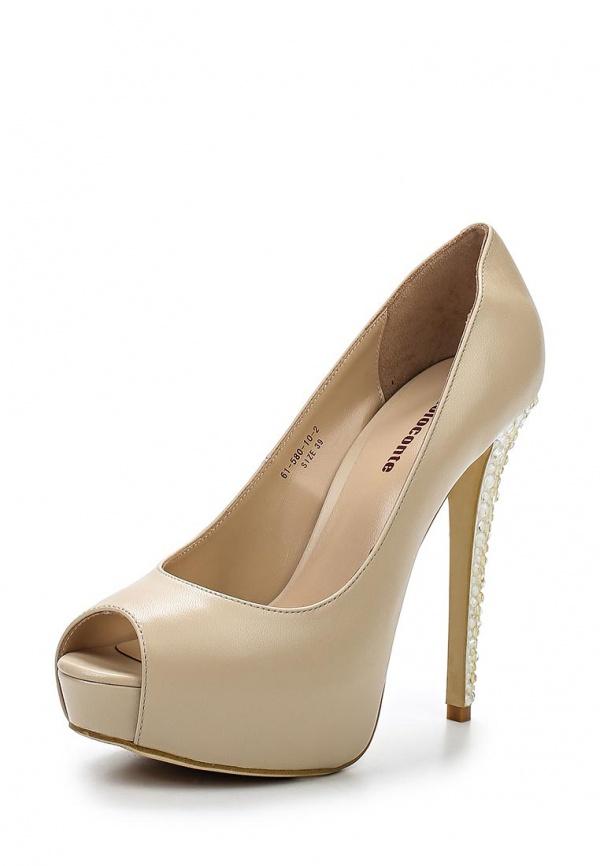Туфли Paolo Conte 61-580-10-2 бежевые