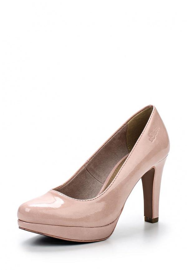 Туфли s.Oliver 5-5-22400-34 розовые