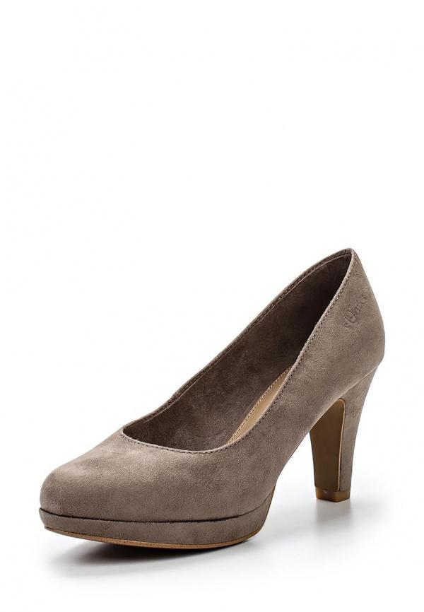 Туфли s.Oliver 5-5-22409-24 серые