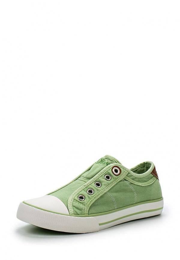 Кеды s.Oliver 5-5-24605-24 зеленые