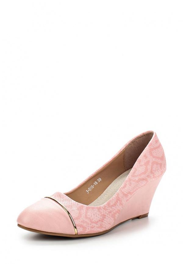 Туфли Vivian Royal J-016-18 розовые