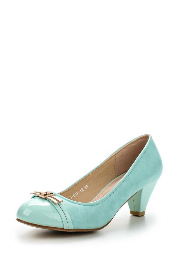 Туфли Vivian Royal J-017-12 зеленые