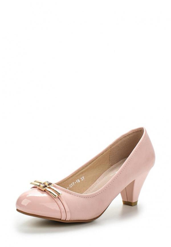 Туфли Vivian Royal J-017-18 розовые