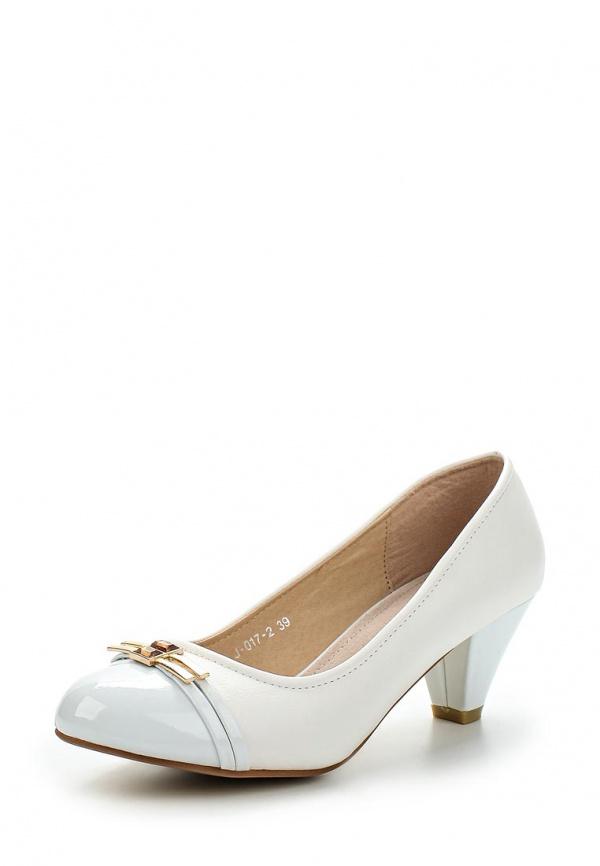 Туфли Vivian Royal J-017-2 белые