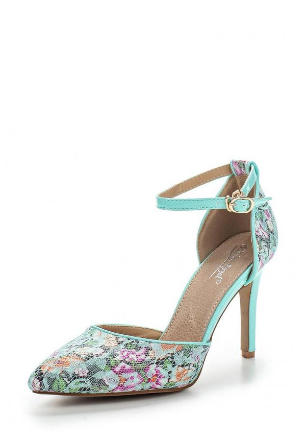 Туфли Vivian Royal J-018-12 зеленые