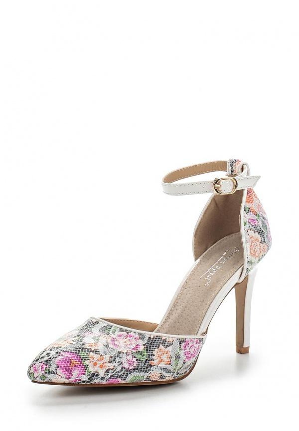 Туфли Vivian Royal J-018-2 белые