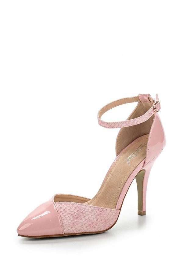 Туфли Vivian Royal J-019-18 розовые