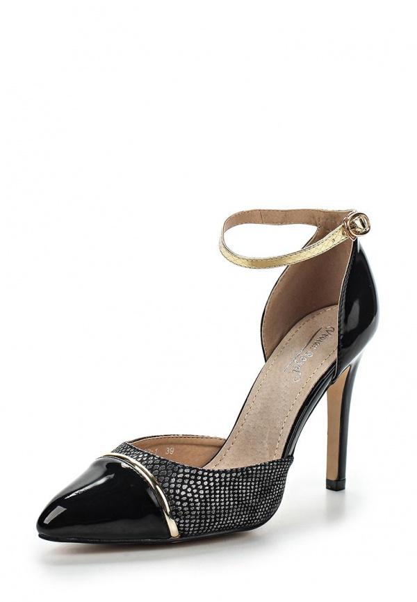 Туфли Vivian Royal J-020-1 чёрные