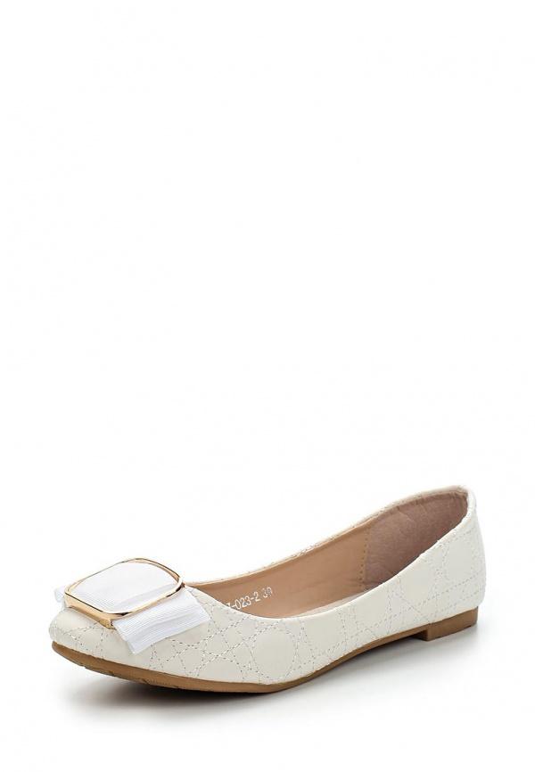 Балетки Vivian Royal J-023-2 белые