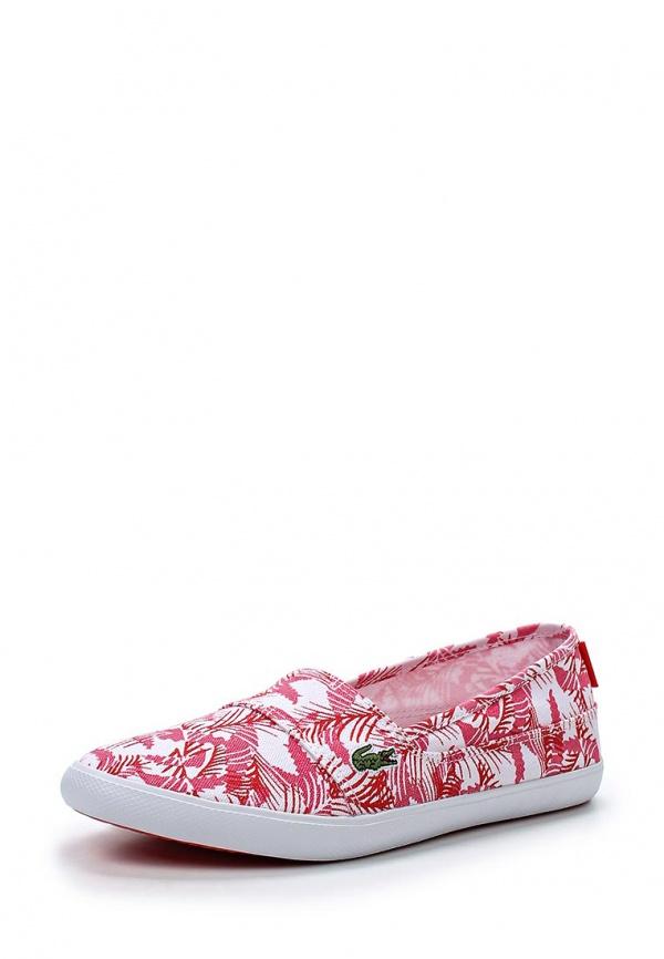 Слипоны Lacoste SPW1016F50 белые, розовые