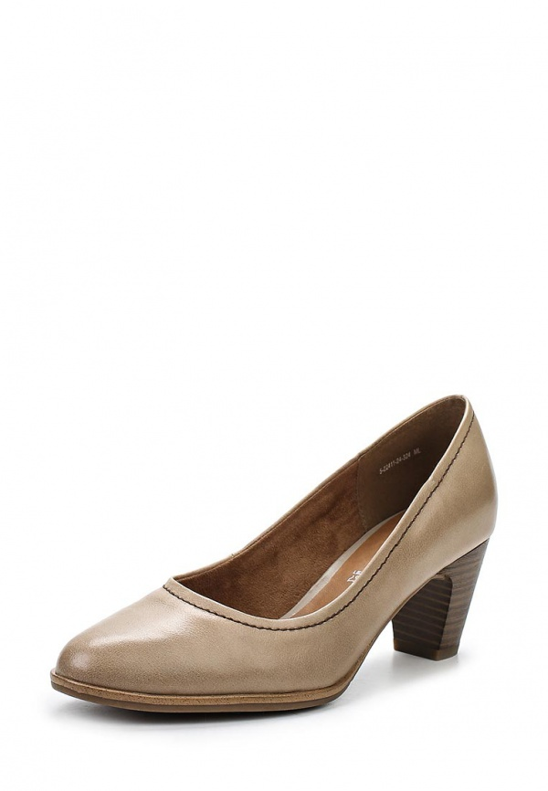 Туфли s.Oliver 5-5-22411-24 бежевые