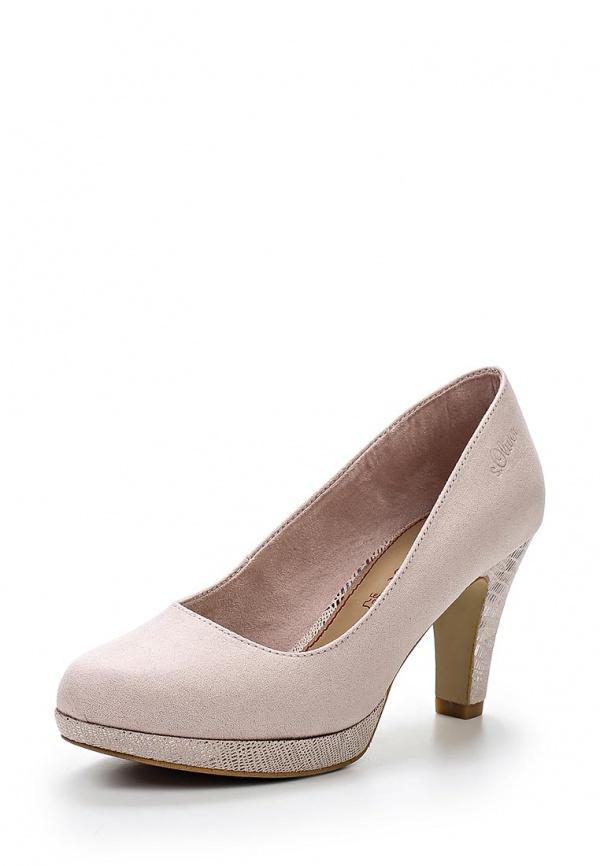 Туфли s.Oliver 5-5-22406-24 розовые