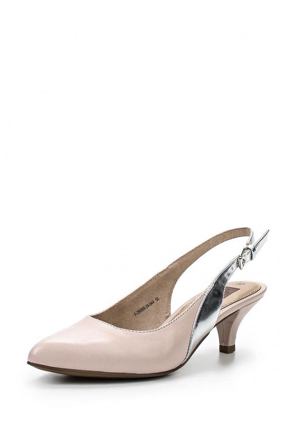 Туфли s.Oliver 5-5-29500-24 розовые, серебристые