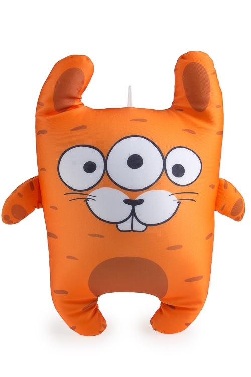 """Текстильные игрушки Красный куб Игрушка мягконабивная """"Заяц-морковка"""""""