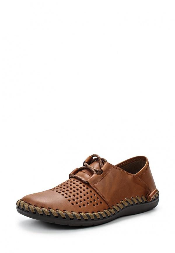 Туфли SHOIBERG 311-01-2-3 коричневые