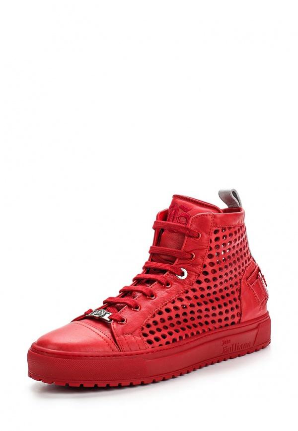 Кеды John Galliano 5703 красные