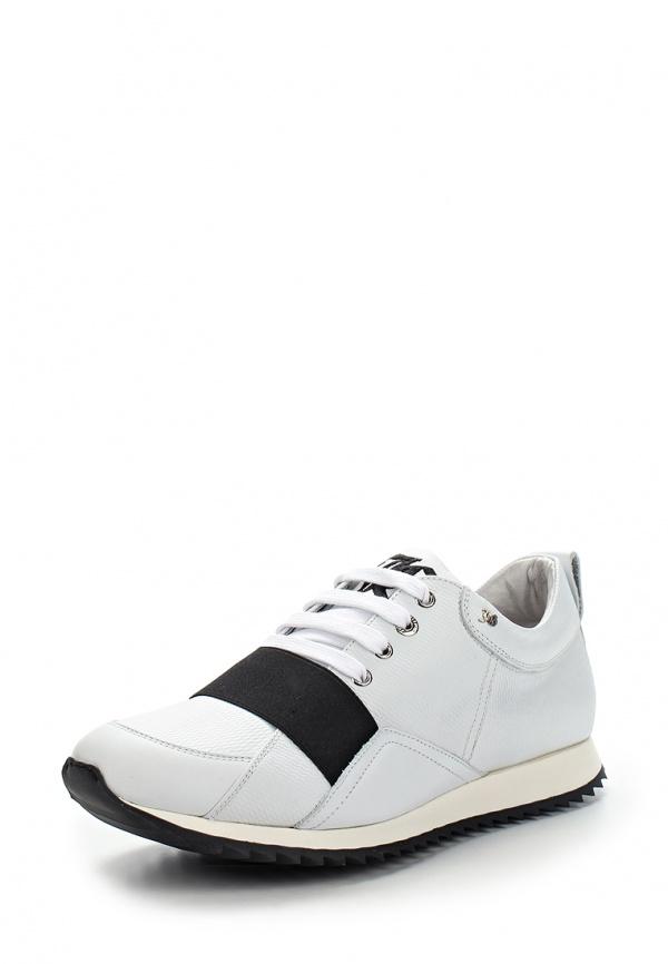 Кроссовки John Galliano 5719 белые