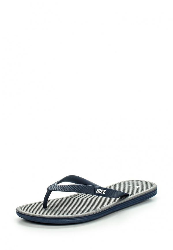 Сланцы Nike 488160-410 синие