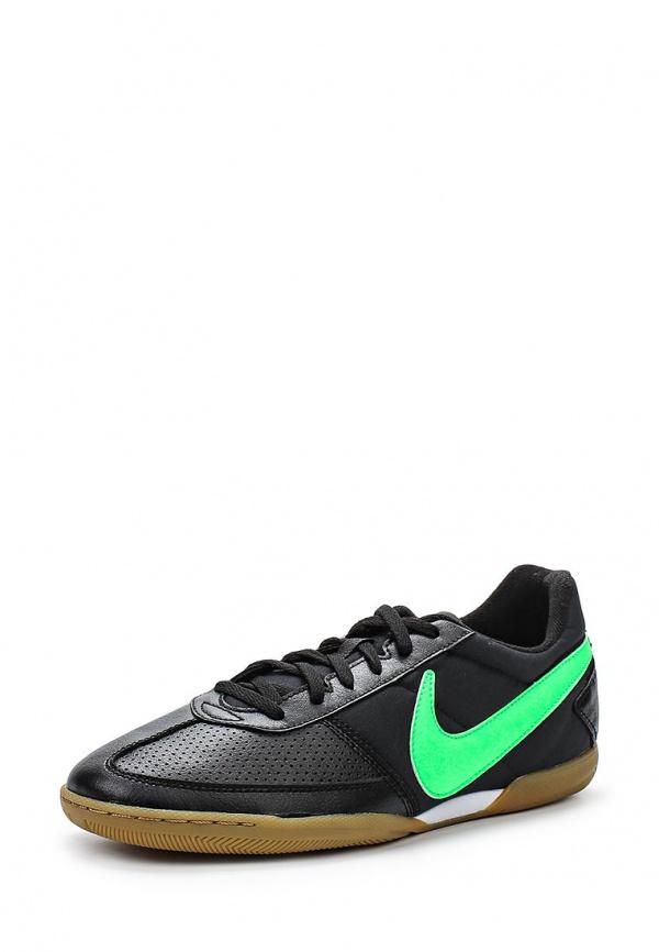 Бутсы зальные Nike 580452-031 чёрные