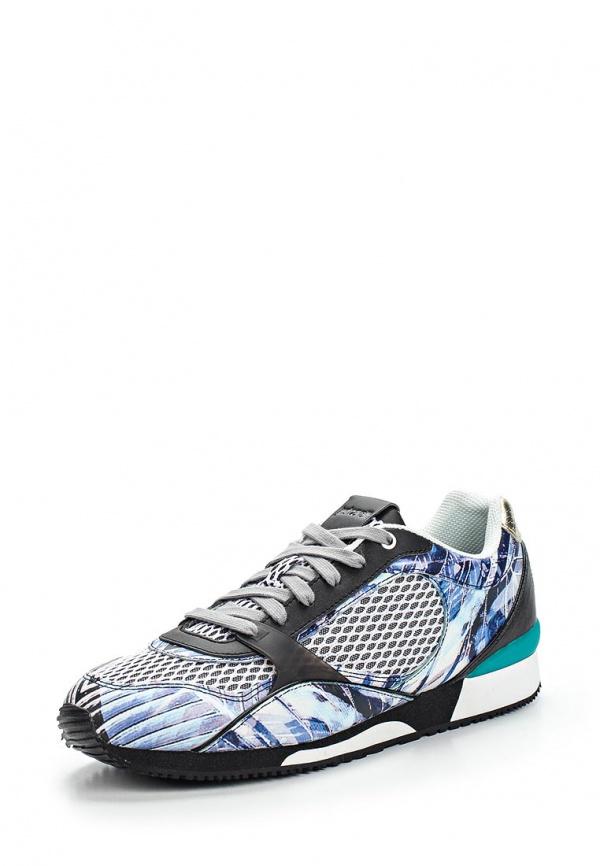 Кроссовки Just Cavalli S12WS0072N08119483S серые, синие