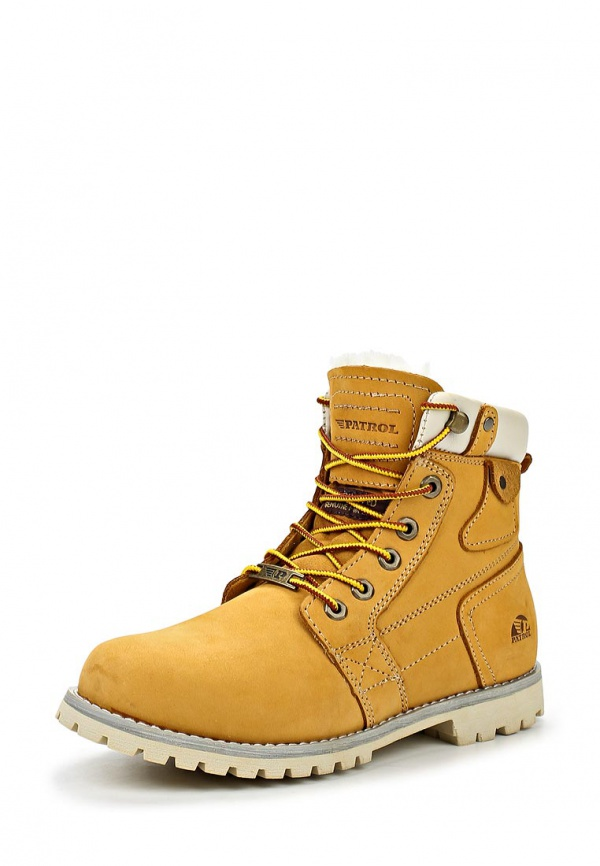 Ботинки Patrol 256-669M-15w-4-11 жёлтые