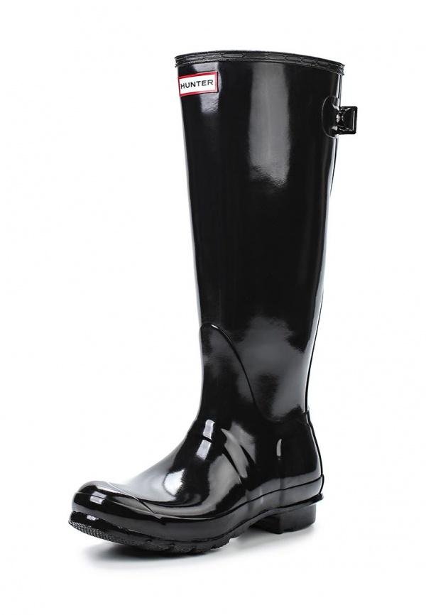 Резиновые сапоги Hunter H_W25064 чёрные