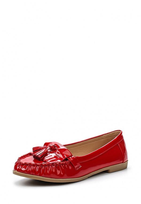 Мокасины Ella Ruby красные