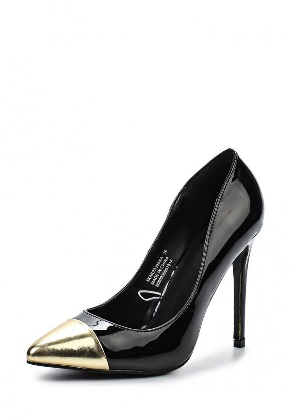 Туфли Koton 5KAK20309AA золотистые, чёрные
