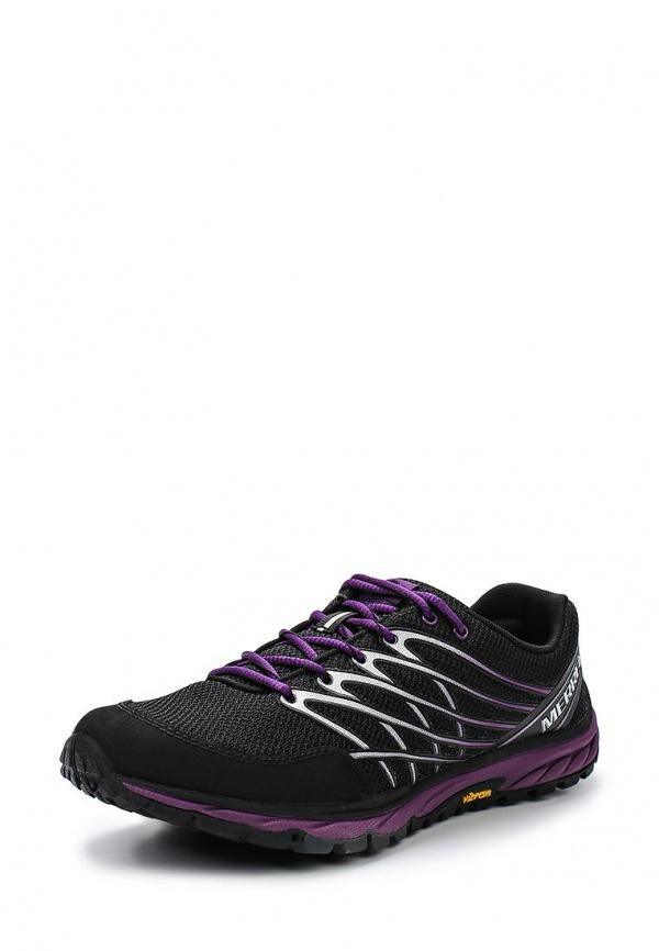 Кроссовки Merrell J01620 фиолетовые, чёрные