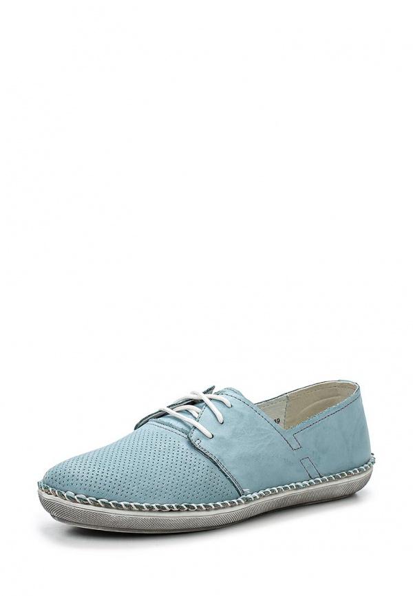 Ботинки SHOIBERG 421-02-01-12 голубые
